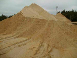 Грунт песчаный