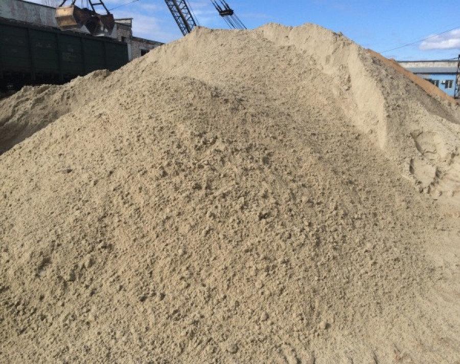 песок серый не строительный